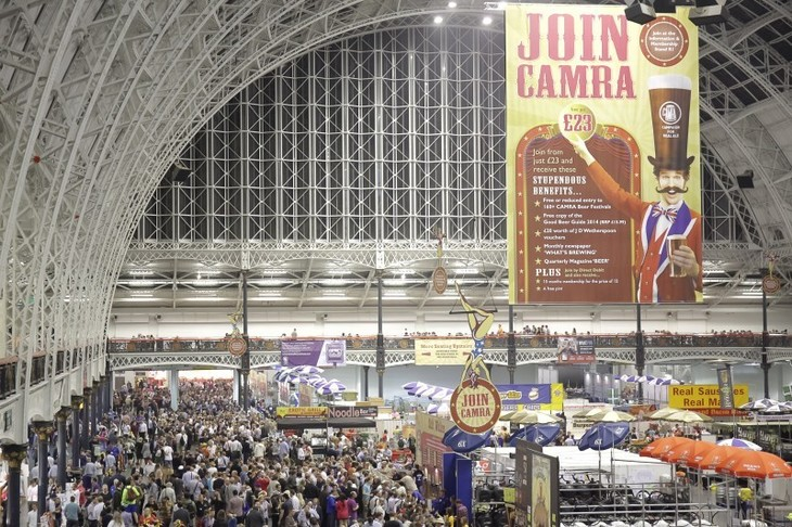 The UK's Biggest Beer Festival Is Coming To London