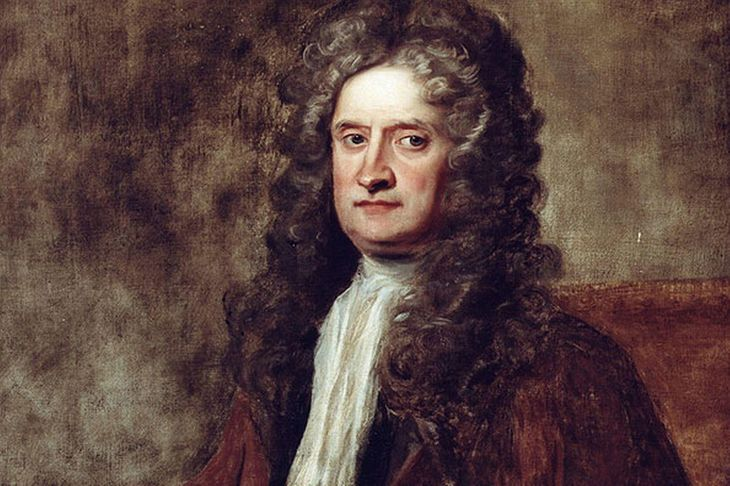 We sold Issac Newton's laboratory to an American. It got lost: