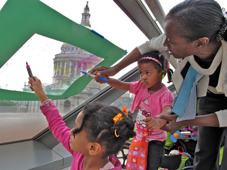 Explore The Gherkin With These Free Family Fun Days