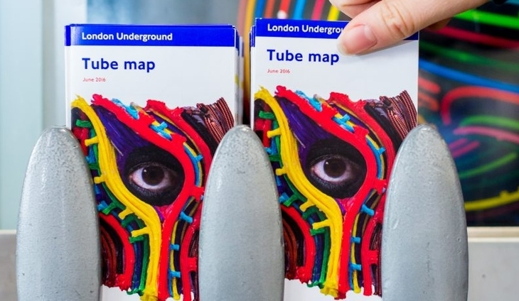 First Ever Art Tube Map To Be Launched