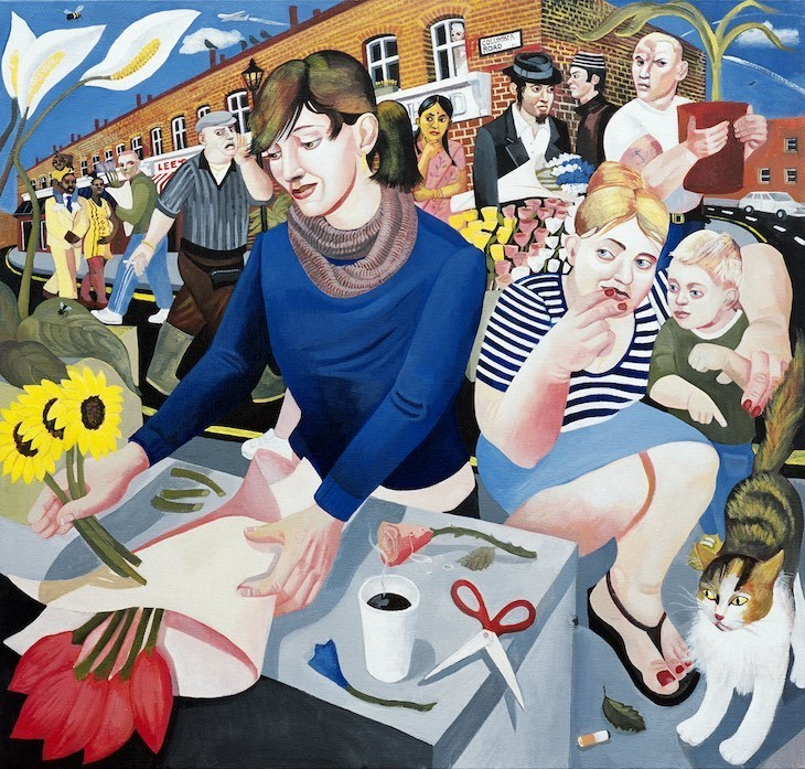 Larger Than Life Londoners In These Paintings
