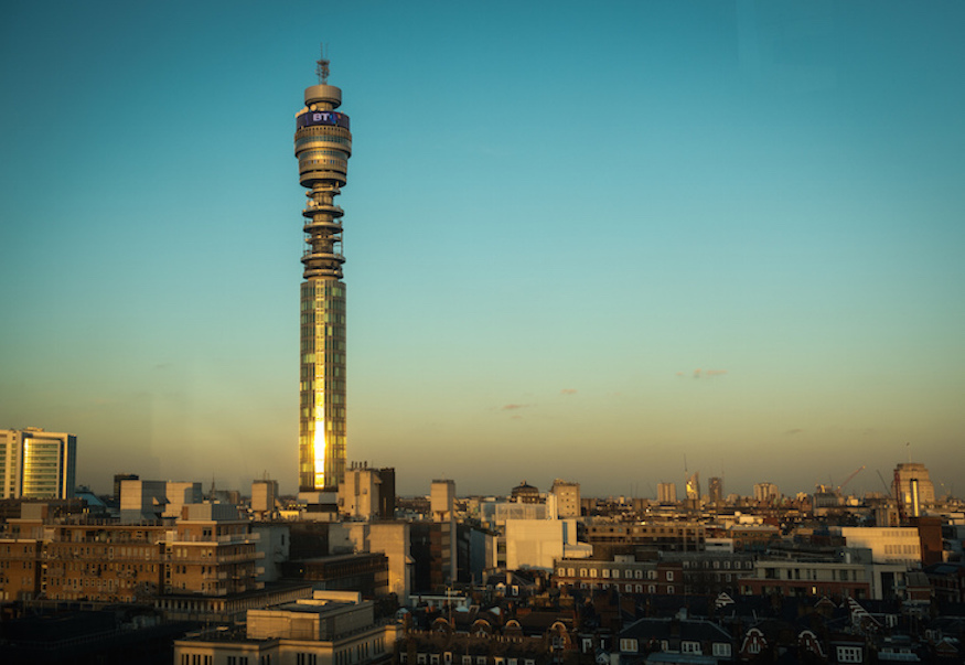 See London From The Top Of The BT Tower