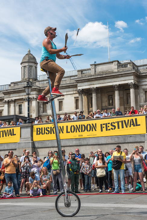 Buskers set to take over central London ->