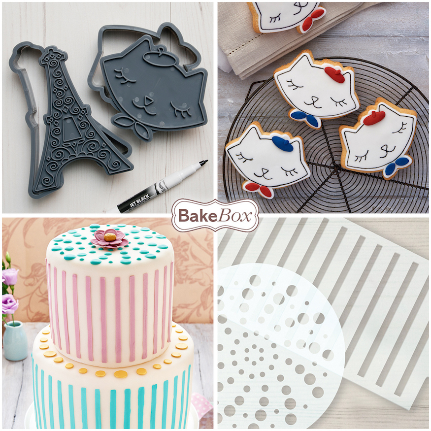 Bake Box: The Easy Way To Learn The Art Of Cake Decorating