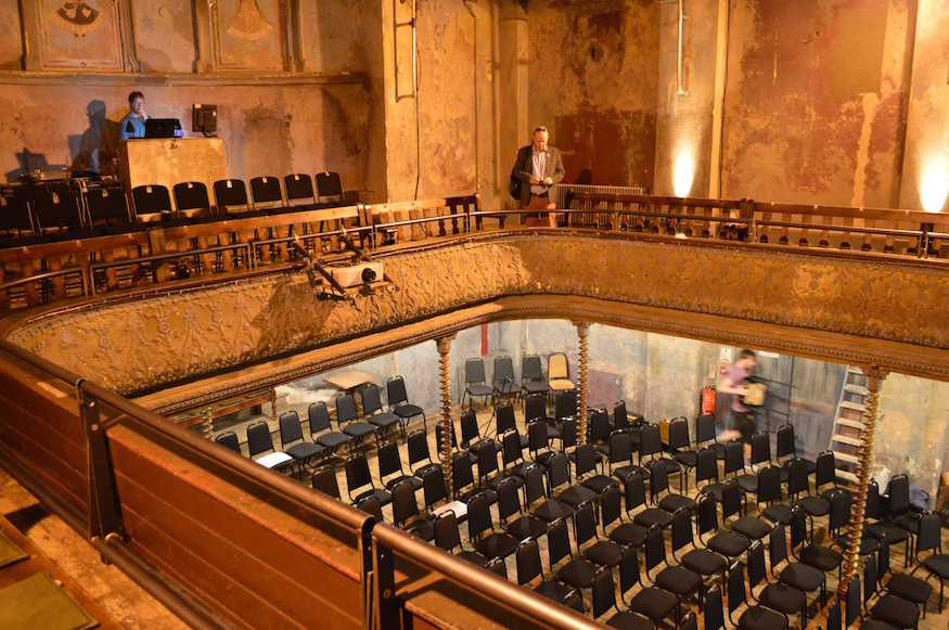 Behind The Scenes At Wilton's Music Hall
