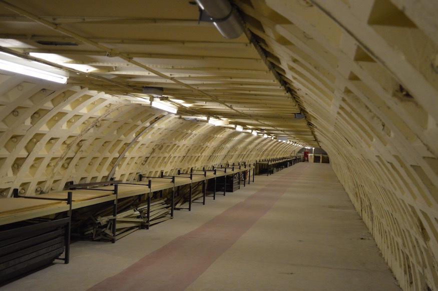 First look round Clapham's deep-level shelter
