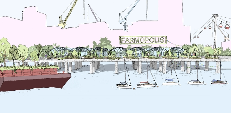 London's Getting A Huge Floating Garden