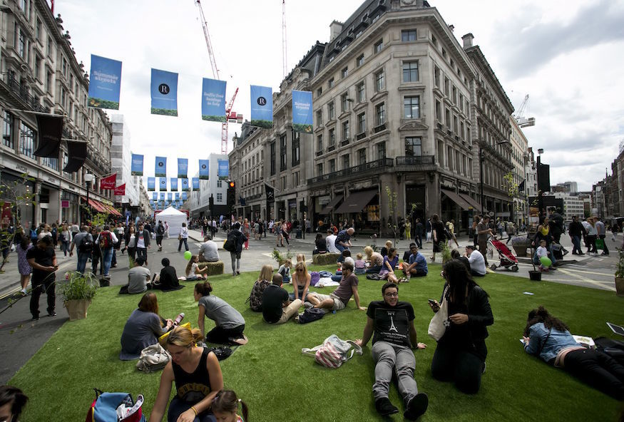 Regent Street Goes Traffic Free For Summer Festival