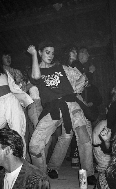 Photos from east London raves