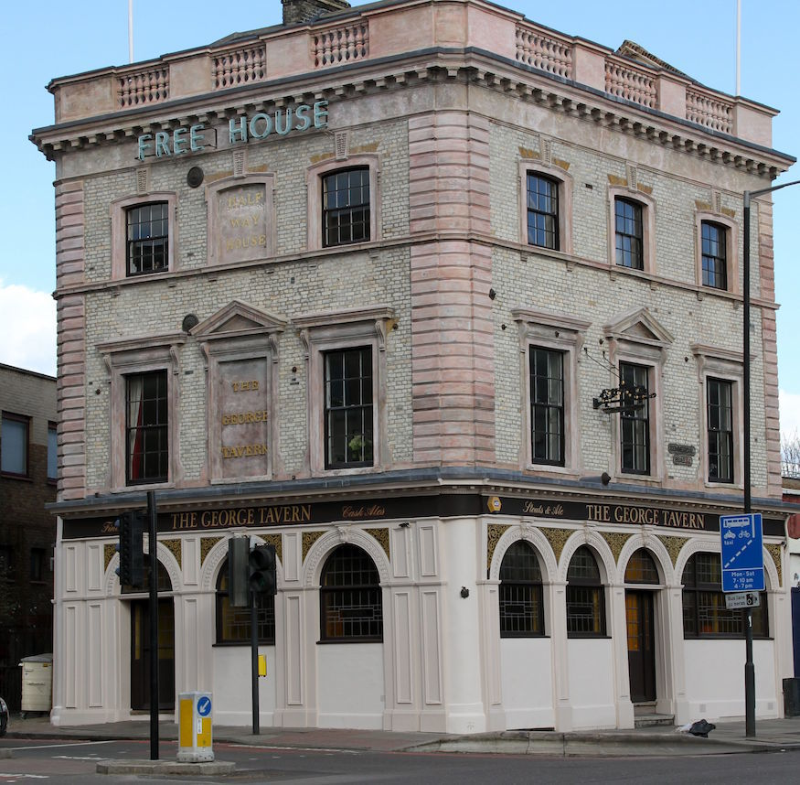 The George pub has been saved from developers
