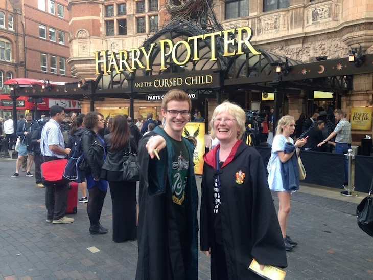 Check out these midnight parties happening this weekend for the new Harry Potter book launch ->