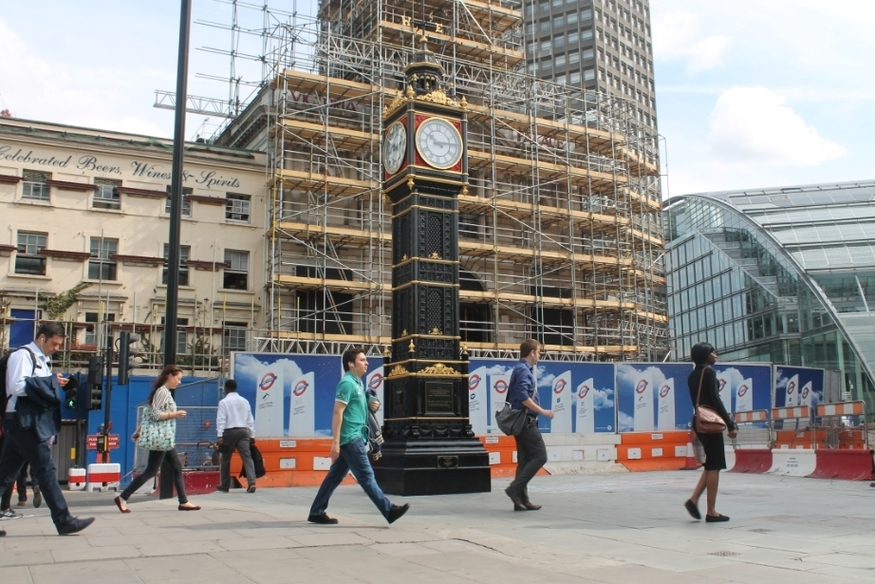 The London Clock That Tells The Wrong Time
