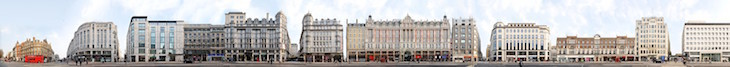 Sweeping Panoramas Of London's High Streets