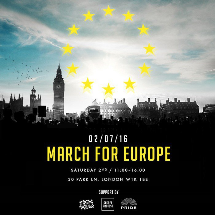 Expect 20k odd people at this anti-Brexit march tomorrow ->
