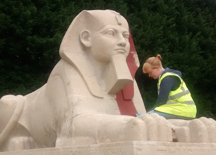You Might Not Recognise The Crystal Palace Sphinxes