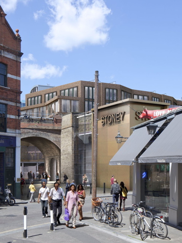 Dirty Lane to be created behind Borough Market ->