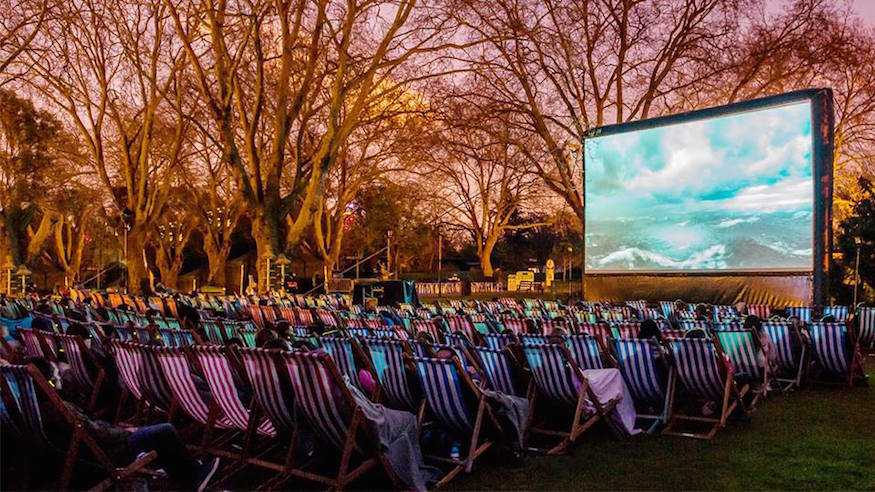 Spend your summer evenings at London Zoo's outdoor cinema