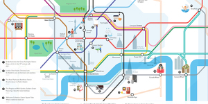 London's Hidden Gems Revealed On A Tube Map