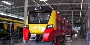 New Class 707 Stock On South West Trains