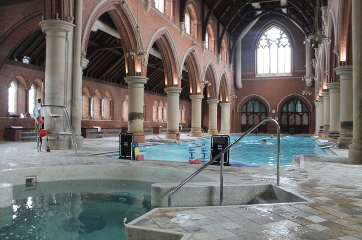 London Churches You Can Laugh, Swim And Do Yoga In