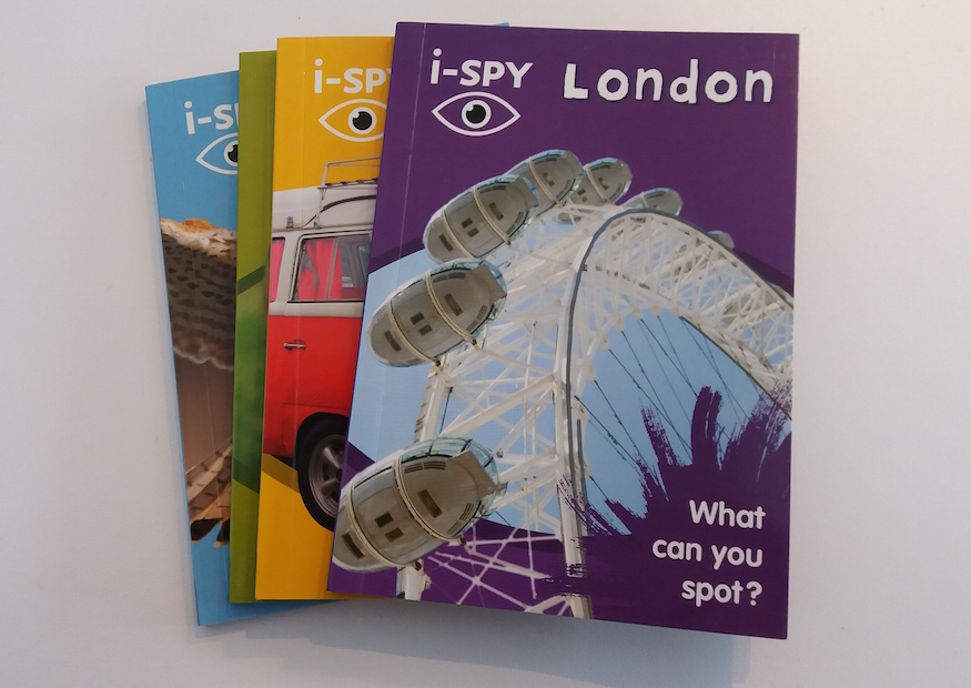 Relive Your Childhood With The New I-Spy London Book
