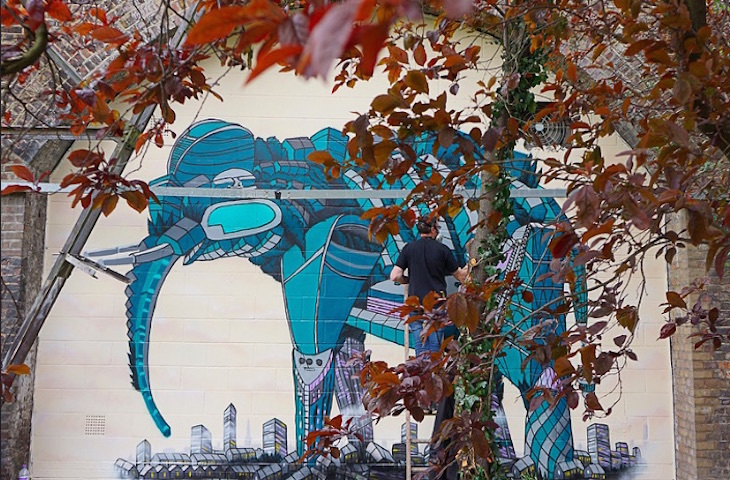 In Photos: The Elephants Of London