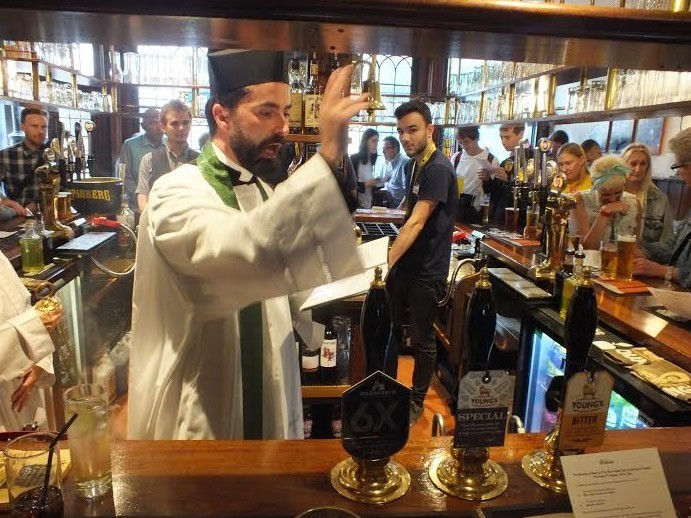 The Clergyman Who Loves Beer So Much He Blesses It