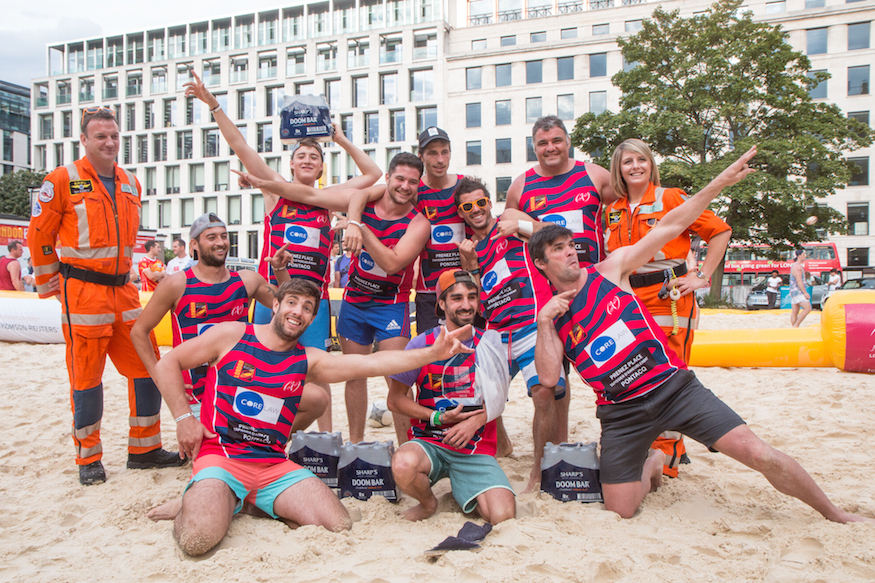 Photos from this year's Beach Rugby: