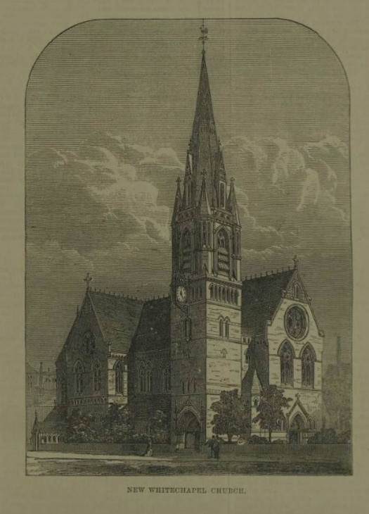 The Church That Gave Whitechapel Its Name