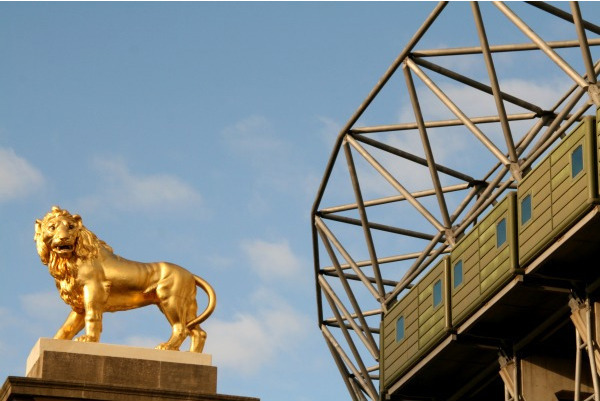 So What's That Lion Sculpture Near The London Eye?