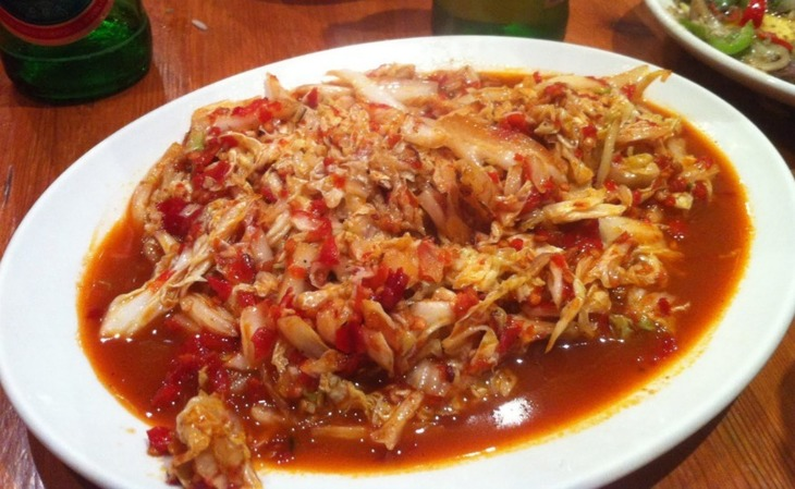 Silk Road London's spiciest food