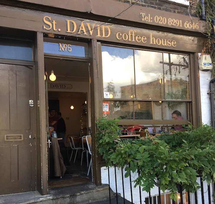 St David Coffee House London's Best Dog Friendly Cafes