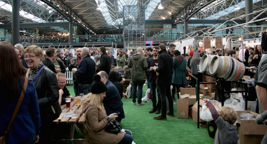 London Brewers' Market at Old Spitalfields Market