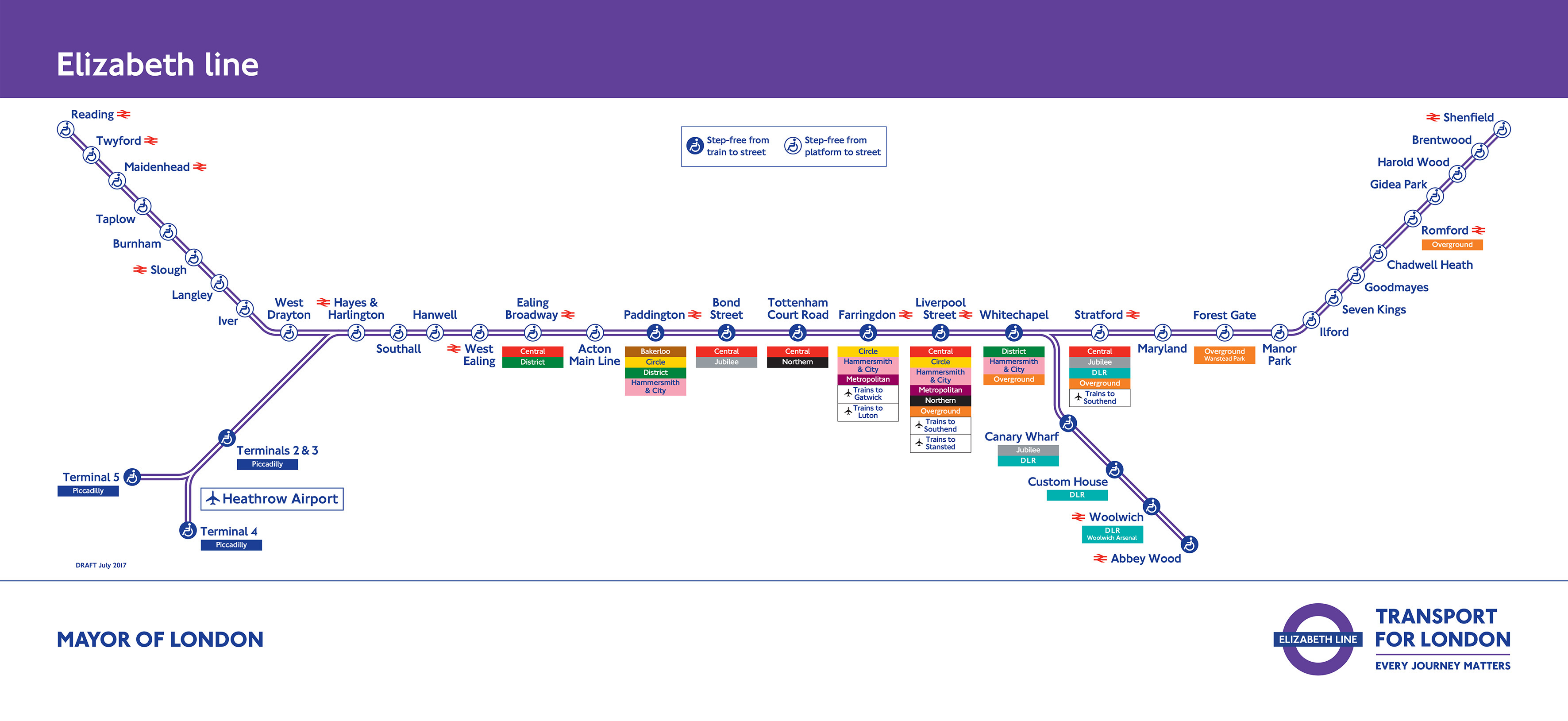 A New Crossrail Map Has Been Released Londonist