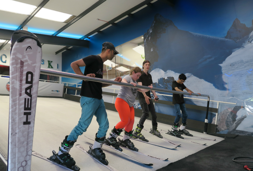 Did You Know London Has A Treadmill Ski Slope?
