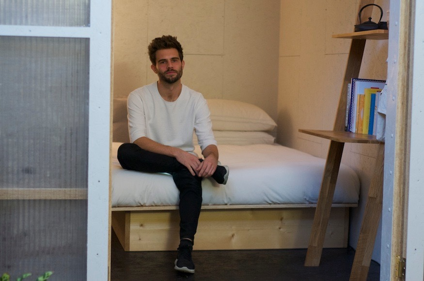 This Guy Is Living In A Shed For £300pcm - But It's Not What You Think