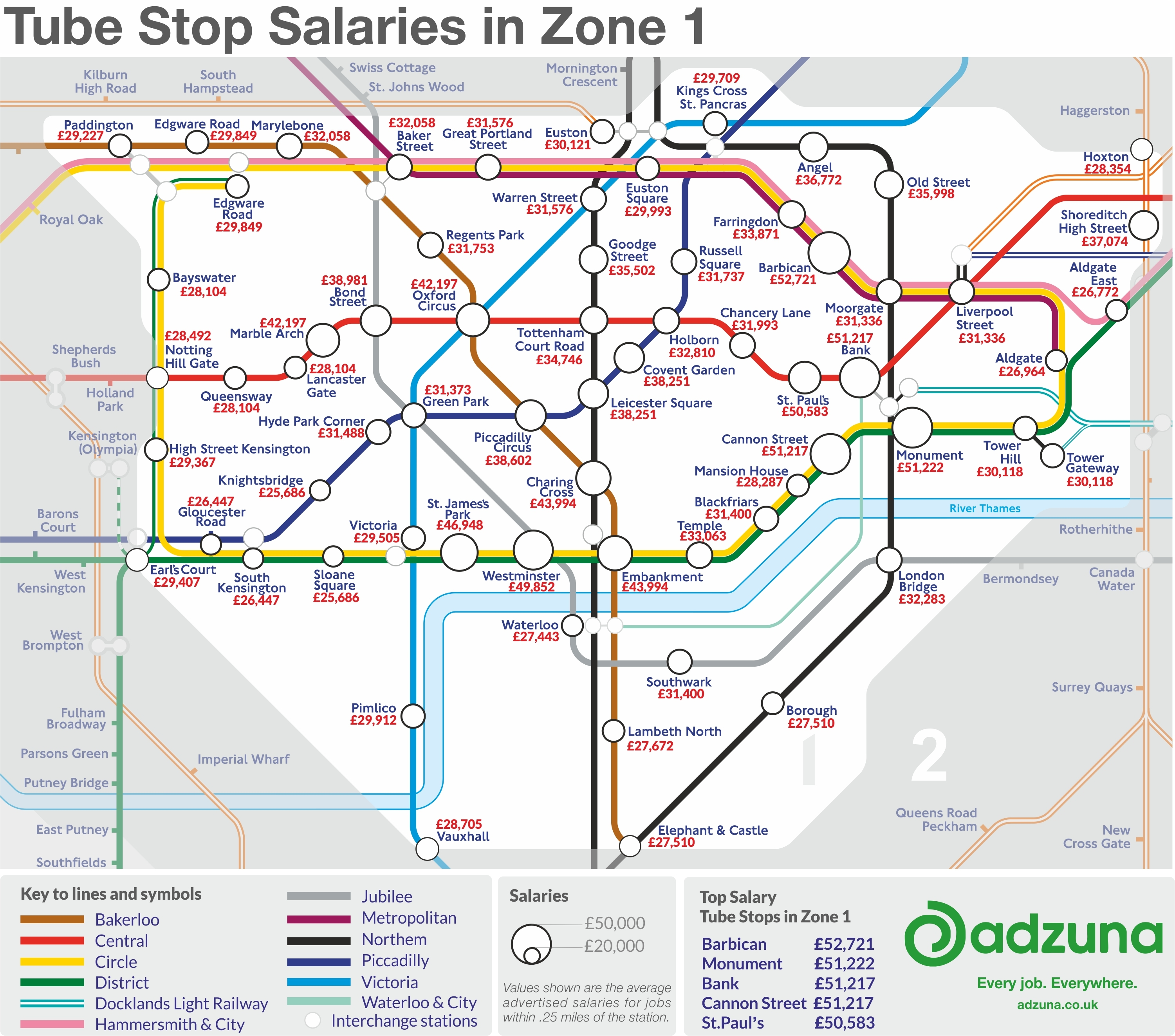 Marble Arch London Map.A Tube Map Of London Salaries Londonist