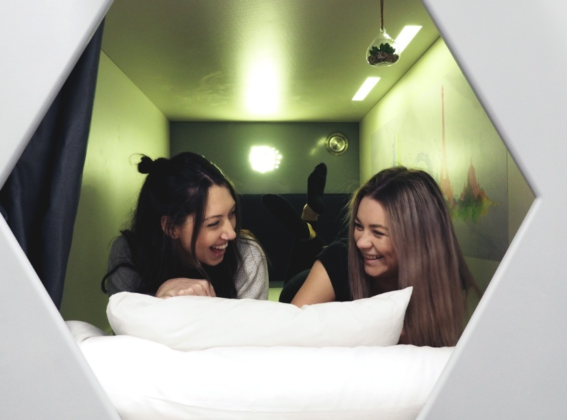 Would You Stay In This Capsule Hostel?