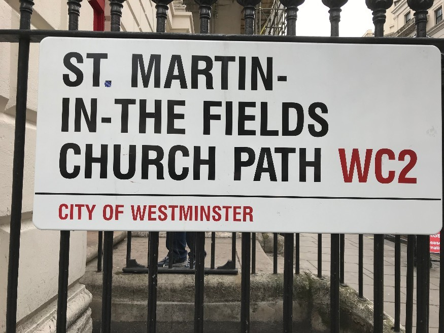 Is This London's Longest Street Name?