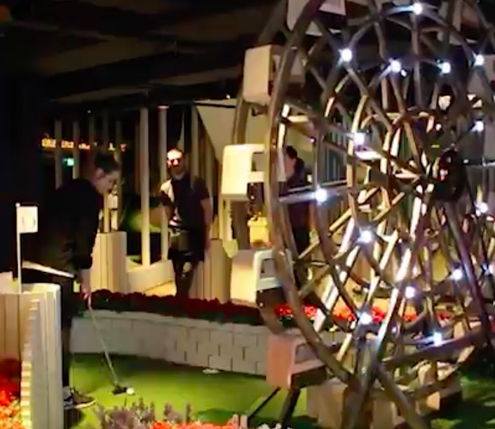 Make Your Night A Hole-In-One At This Crazy Golf Club