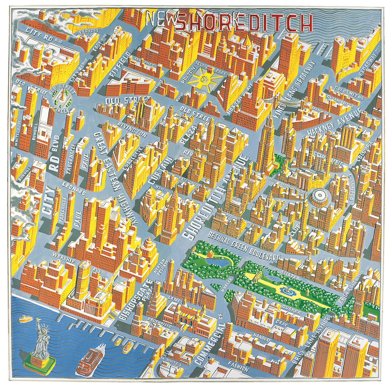 Adam Dant S Book Of London Maps Is Gorgeous Londonist