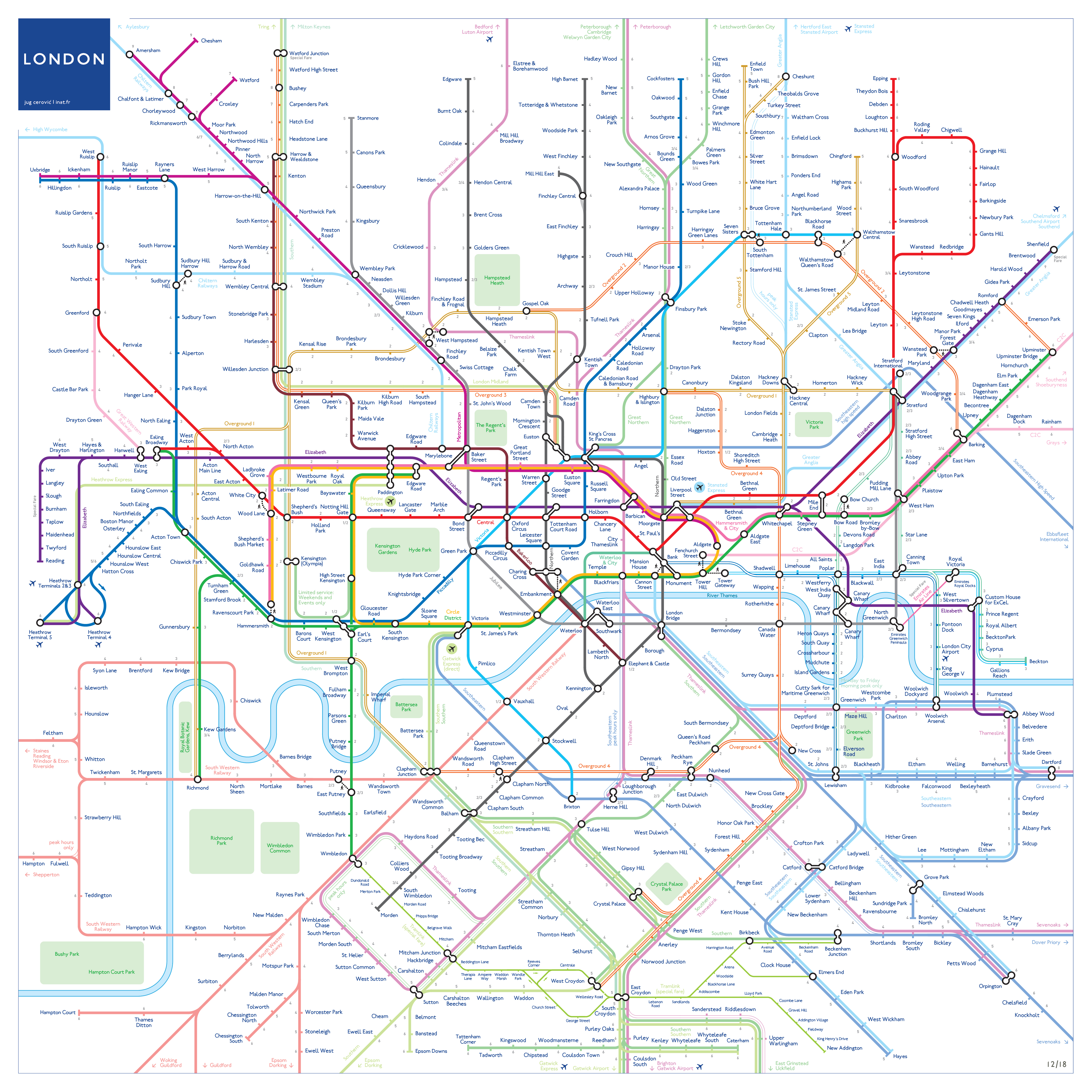 london rail tube map pdf