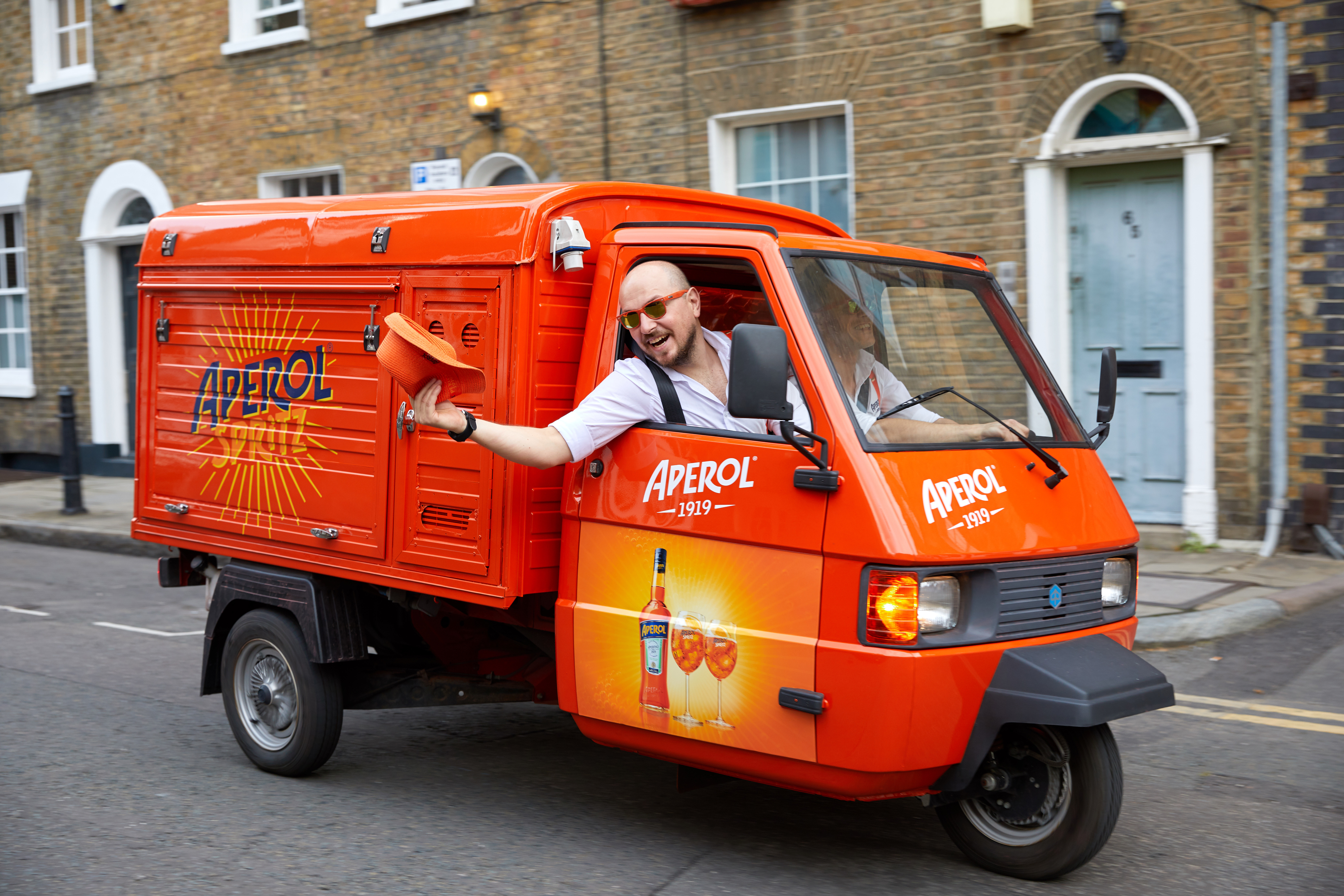 Fancy A Free Delivery Of Aperol Spritz?