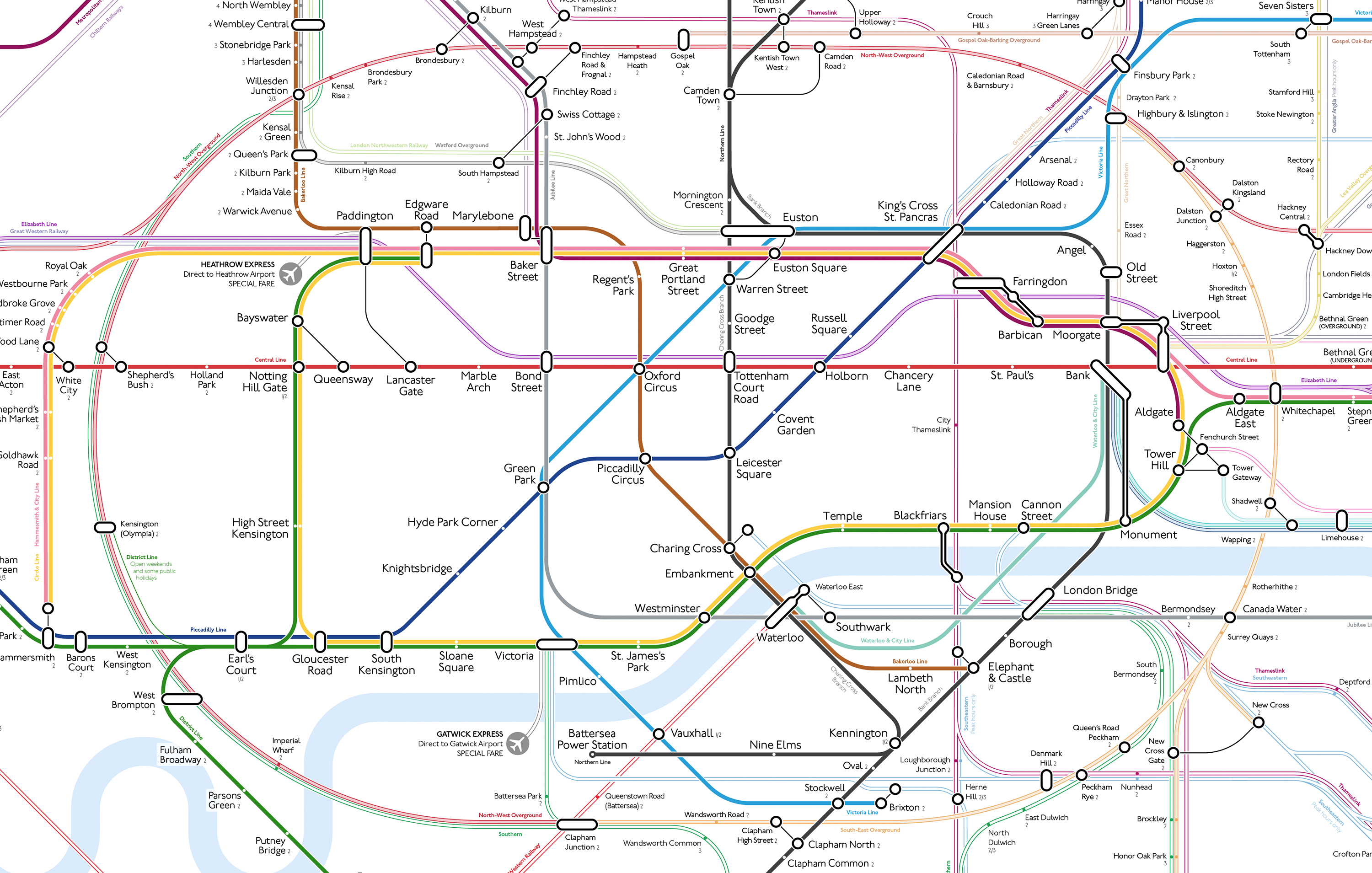 Better Than Beck? Decluttered Tube Map Wins Fans (And Haters ...