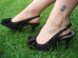 Liz's new shoes