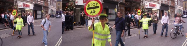Liz the lollipop lady