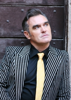 Morrissey and his lovely sparkling blue eyes