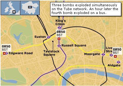 London Bombings Update