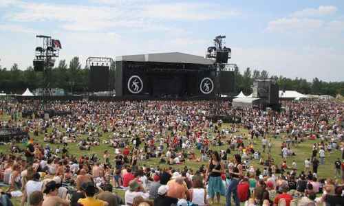 Green Day at Milton Keynes