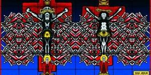 "Review - Gilbert & George, Sonofagod Pictures ""Was Jesus Heterosexual?"""